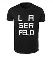 T-Shirt aus Baumwolle von LAGERFELD