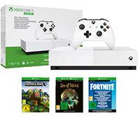 MICROSOFT Xbox One S 1TB + 3 Spiele