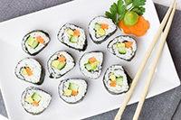 Geschenkideen. Sushi essen für zwei
