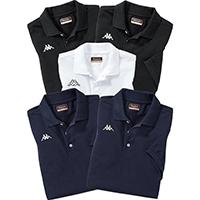 5er Pack Kappa Poloshirts im Mischpack