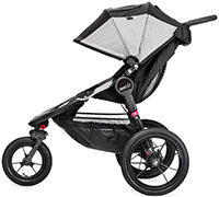 Baby Jogger Sportwagen Summit X3 Black Gray