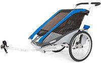 Kinderfahrradanhaenger Chariot Cougar 1 Blue von THULE
