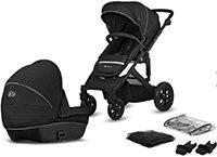 Kinderkraft Kinderwagen Prime Lite 2 in 1 Black
