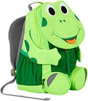 Affenzahn Großer Freund Neon Frosch Kinderrucksack