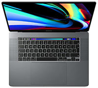 "Apple MacBook Pro Retina 2019 16"" i9 2,3GHz 32GB RAM 1TB SSD Radeon Pro 5500M 8GB Space Grau"