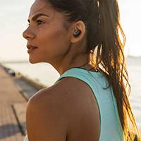 Sonos One Stereo Set + Belkin SOUNDFORM True Wireless Earbuds