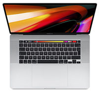 "Apple MacBook Pro 16"" - Silber 2019 CZ0Y3-02010 i9 2,3GHz, 64GB RAM, 1TB SSD, Radeon Pro 5500M (8GB), macOS - Touch Bar"