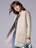 Damen Mode 2021 Jersey-Longjacke von LIEBLINGSSTÜCK