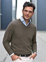 Herren V-Pullover von LOUIS SAYN
