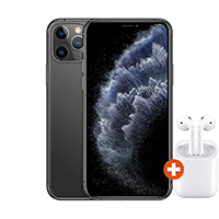 iPhone 11 Pro 256 GB Space Grau + AirPods 2nd Gen 2019