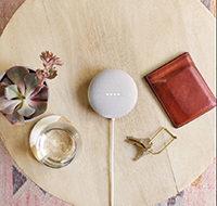 Smarter Lautsprecher mit Sprachsteuerung Google Nest Mini (2. Gen) 2er-Pack günstig vom Spezialisten (tink)