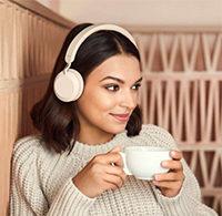 JABRA Elite 45h - Schwarz [50 h Akkulaufzeit, Bluetooth 5.0, 10 m Reichweite, 2 geräuschunterdrückende Mikrofone]