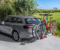 EUFAB Fahrradträger Crow Plus für 2 Fahrräder, erweiterbar