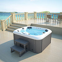 Home Deluxe Sea Star Outdoor Whirlpool