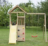 Kinder Spielturm für den Garten
