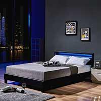 LED Bett Astro 140x200 von Home Deluxe