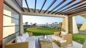 Luxushotel in der Gegend von Tingaki auf der Insel Kos