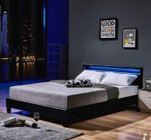 Modernes LED-Bett für junge Leute