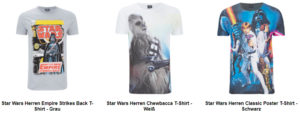 Star Wars T-Shirt mit Chewbacca
