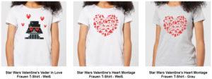 Star Wars T-Shirts für Mädels