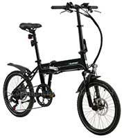 E-Bikes von Blaupunkt, faltbar mit Minirädern