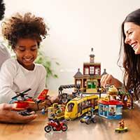 LEGO City Stadtplatz