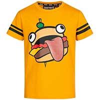 """Kinder T-Shirt """"Burger"""" von Fortnite Durrr für 3,99 EUR"""