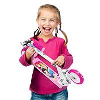 Kinder Scooter für Mädchen, klappbar