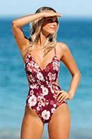 Badeanzug für junge Frau im CUPSHE Online-Shop