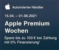 Apple Premium Wochen bei Notebooksbilliger bis zum 1. Juni 2021