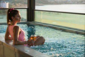 Kleines Hotel für Erwachsene auf Kreta