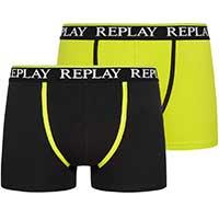 REPLAY Boxer Herren 2er-Pack Boxershorts