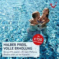 HolidayCheck Rabatt-Aktion: 150€ TUI-Sofortrabatt