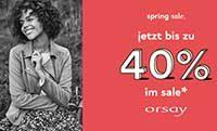 Damen Mode: Super Spring Sale bei ORSAY