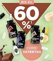 60% Rabatt auf ESN Gaba Caps & ESN Gurana Caps