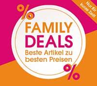 Rabatt-Aktion bei babymarkt anlässlich des Family-Week