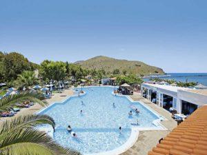 Komfortables kleines Hotel in direkter Strandlage auf Kreta