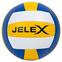 """JELEX """"Softtouch"""" Volleyball yellow darkblue white"""