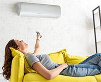 Mini Split Klimaanlage