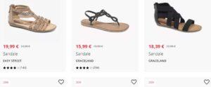 Damen Schuhe für den Sommer