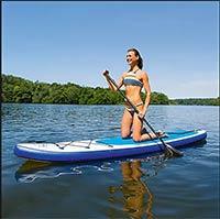 EASYmaxx Stand Up Paddle Board zum Aufblasen