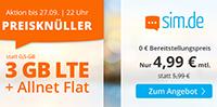 Beste Handytarife bei SIM.de