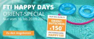 FTI Happy Days Orient-Special (16.09.-20.09.2021