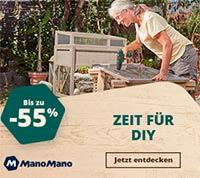 Rabattaktion für Werkzeug bei ManoMano