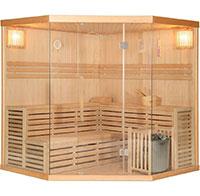 Home Deluxe 2982 Skyline XL BIG Sauna inkl. 8 kW Saunaofen